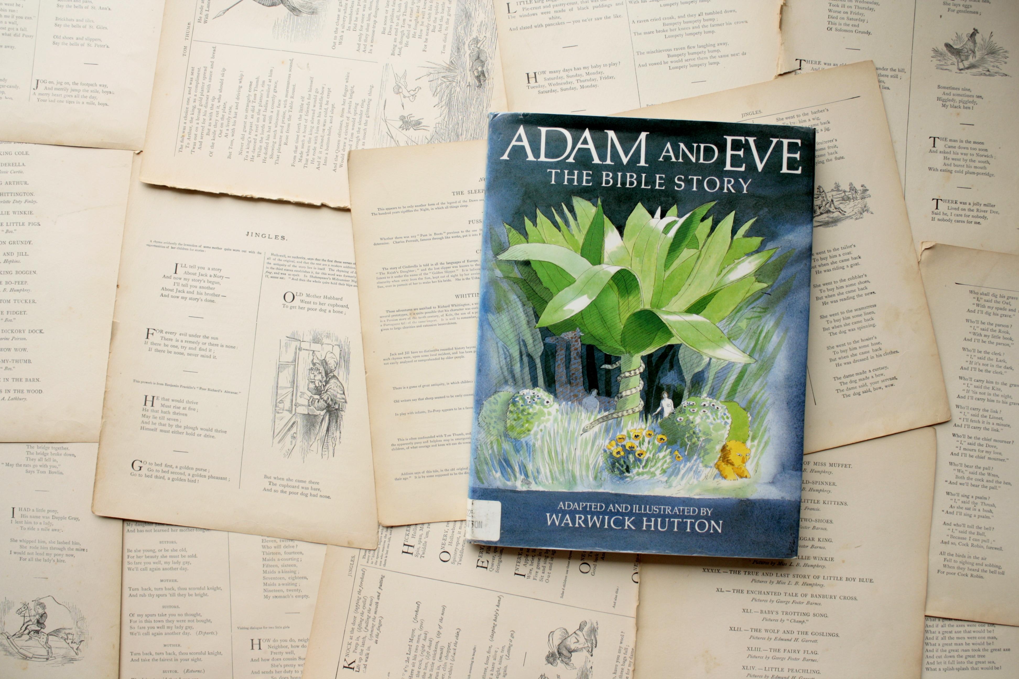 Adam and Eve | Warwick Hutton