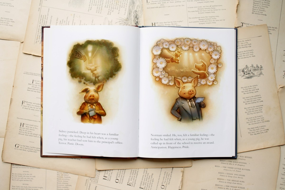 Sidney and Norman   Little Book, Big Story