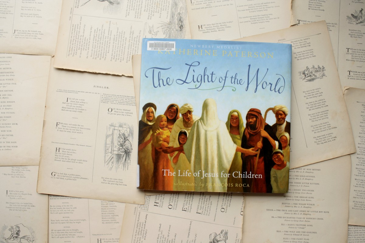 The Light of the World, by Katherine Paterson   Little Book, Big Story
