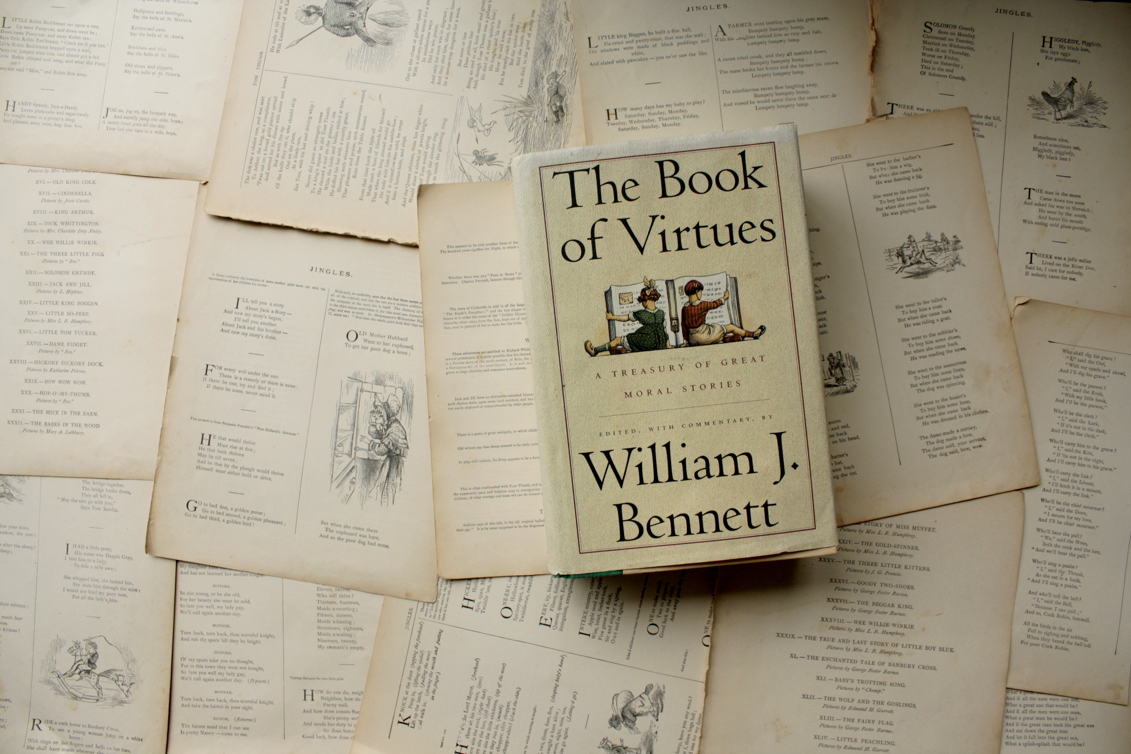 The Book of Virtues | William J. Bennett