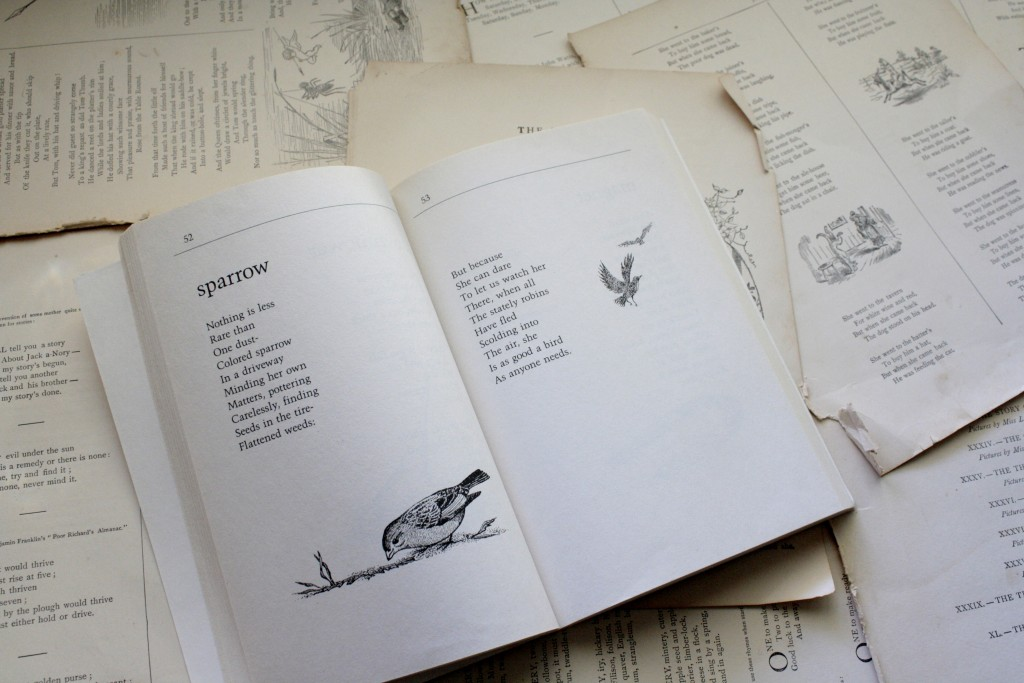 """""""Sparrow,"""" from All the Small Poems, by Valerie Worth 