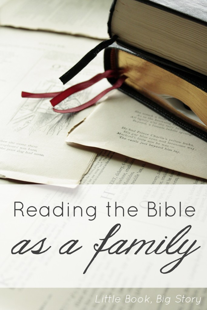 Reading the Bible as a family | Little Book, Big Story