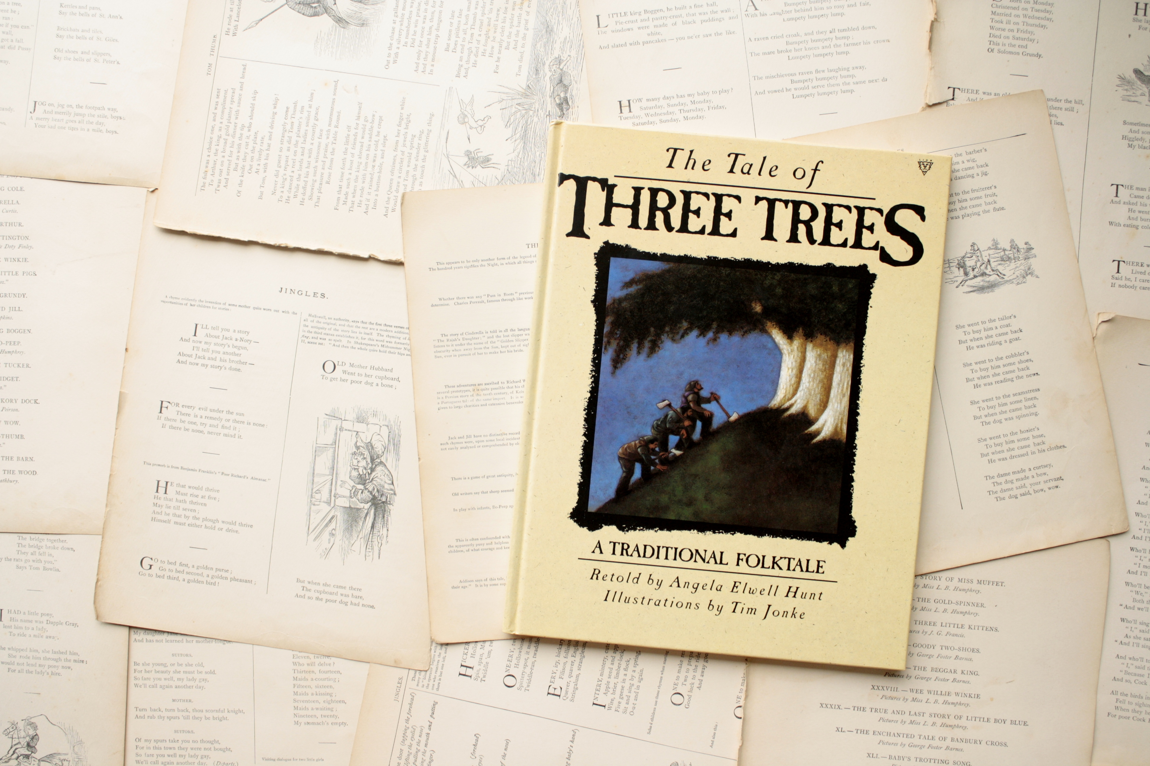 The Tale of Three Trees | Angela Elwell Hunt