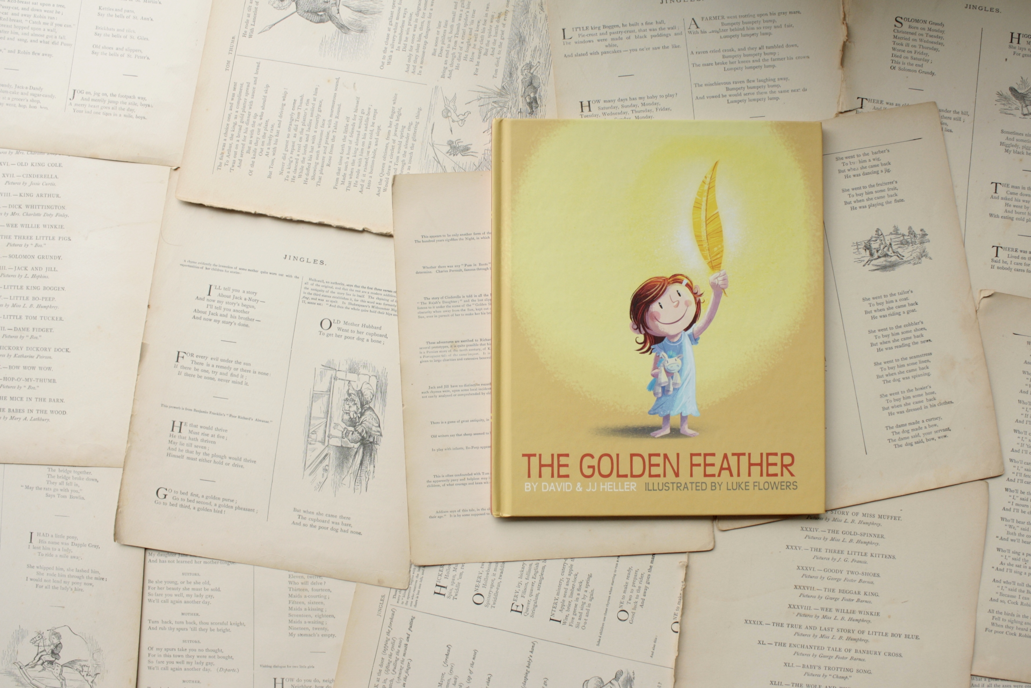 The Golden Feather | David & JJ Heller