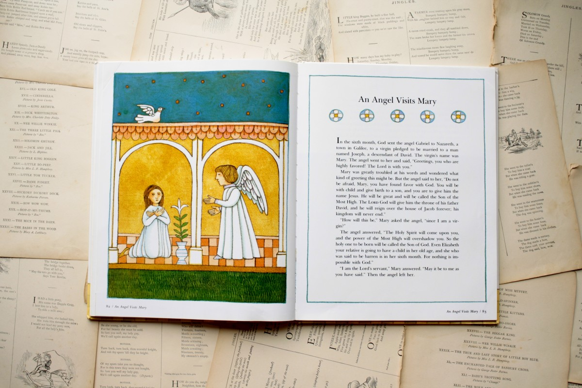 Tomie dePaola's Book of Bible Stories: An Angel Visits Mary | Little Book, Big Story
