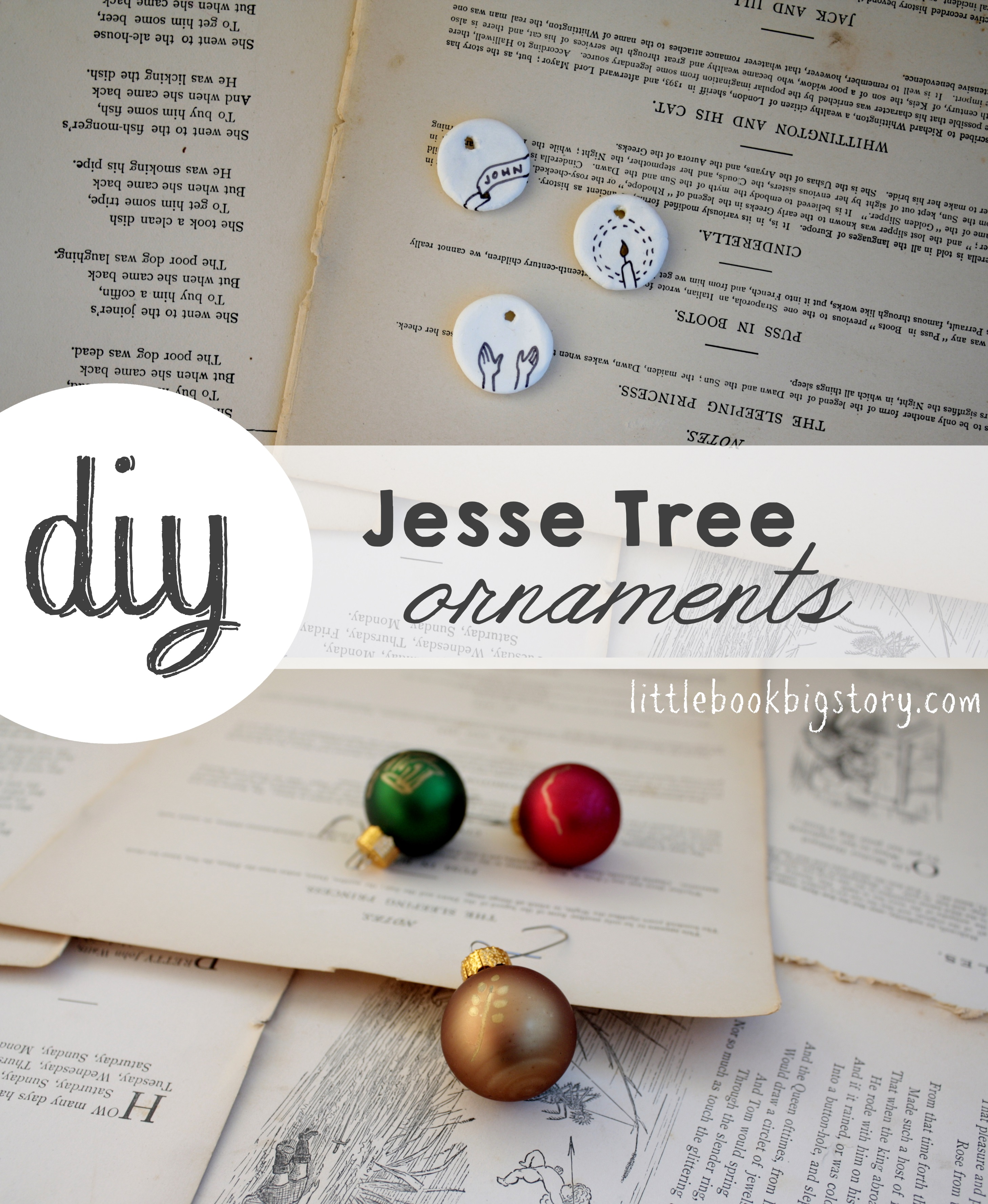 A quick guide to jesse tree ornaments little book big story diy jesse tree ornaments with instructions little book big story solutioingenieria Gallery