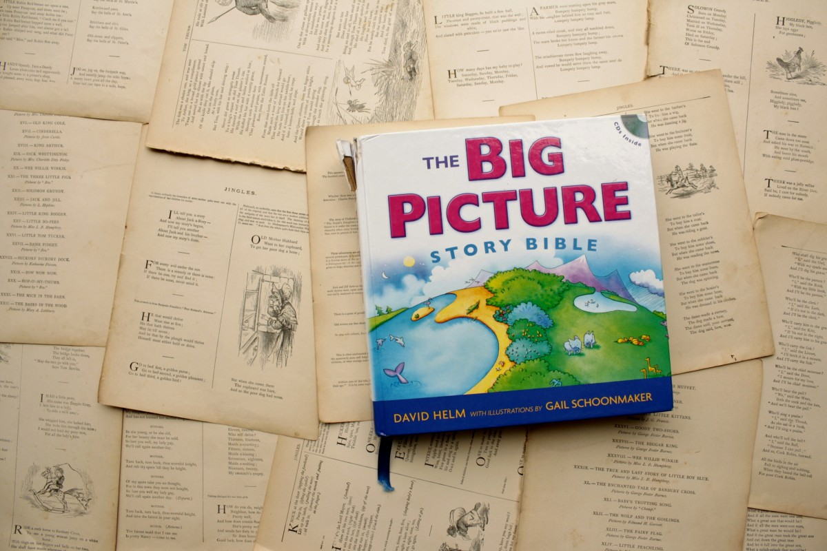 The Big Picture Story Bible, by David Helm | Little Book, Big Story