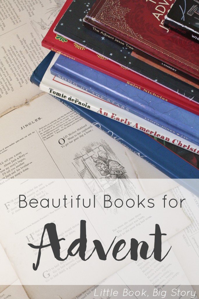 Beautiful Books for Advent | Little Book, Big Story