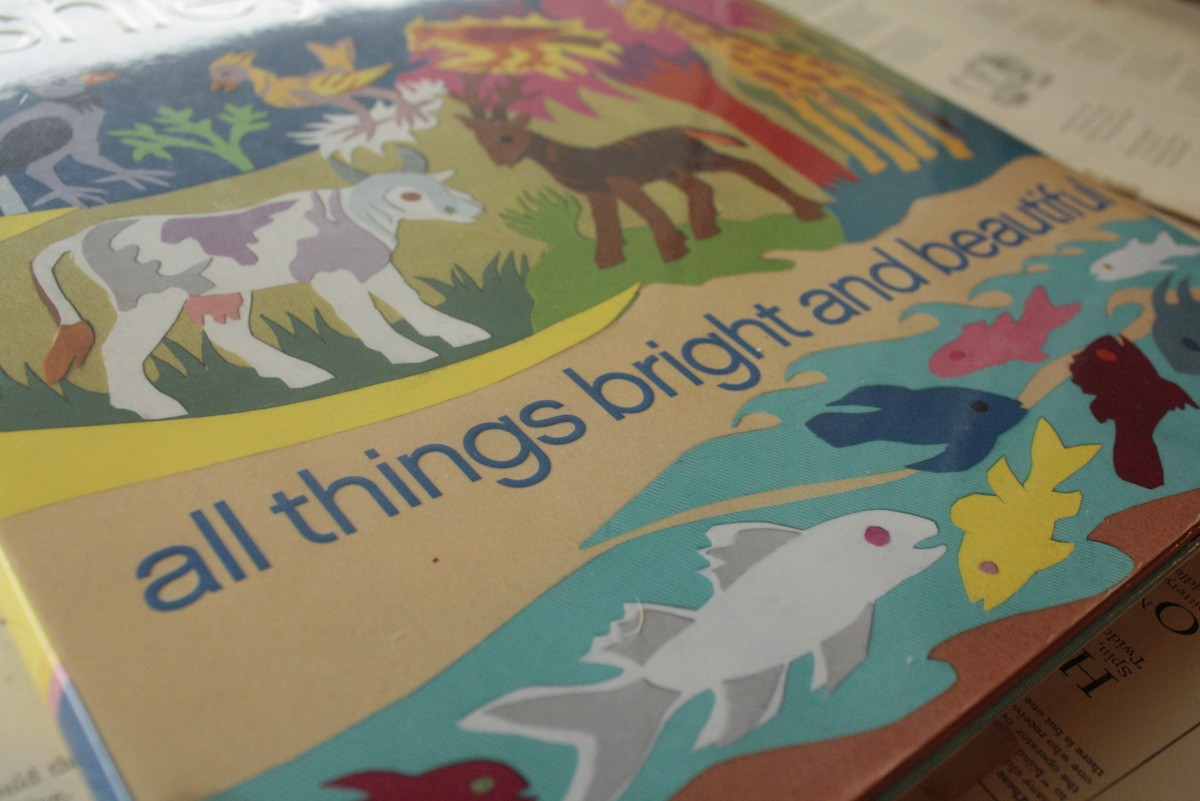 All Things Bright and Beautiful, by Ashley Bryan | Little Book, Big Story