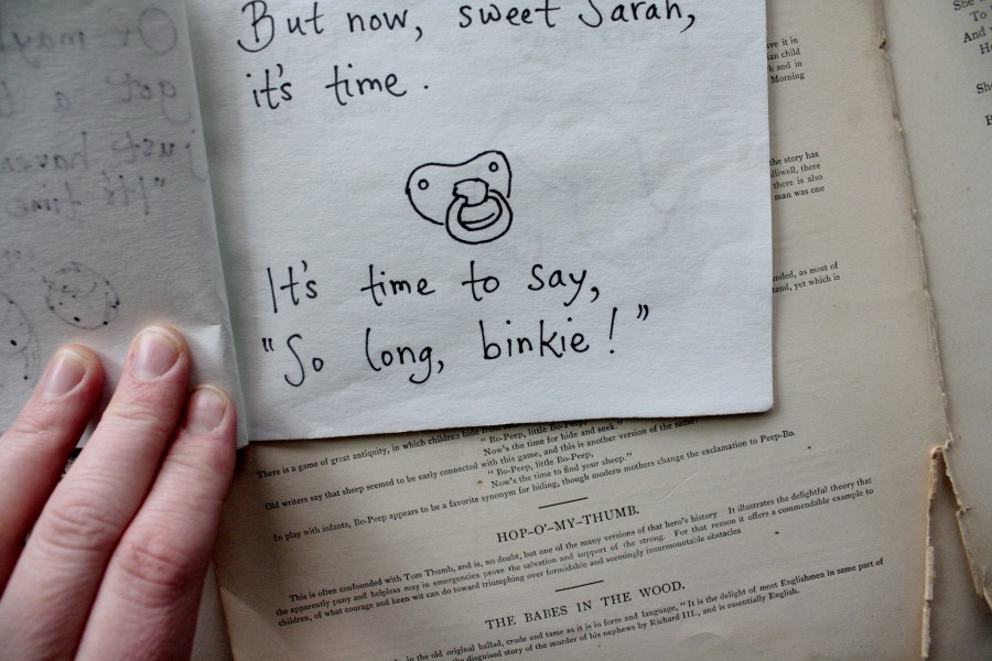 So Long, Binkie!, by Thea Rosenburg