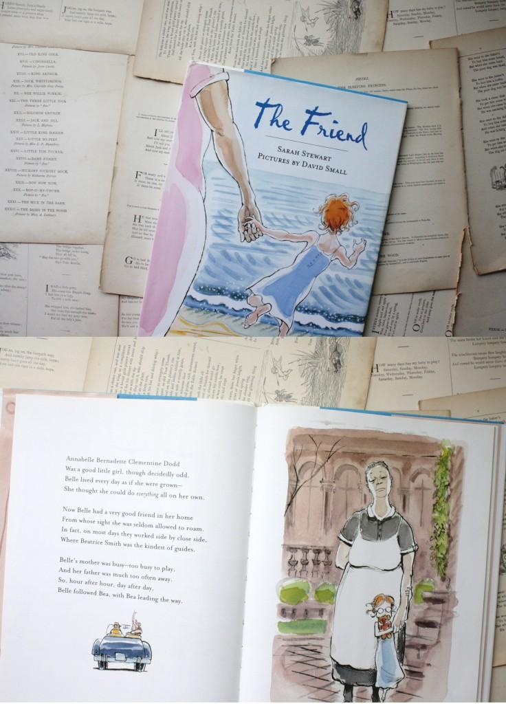 The Friend Sarah Stewart Little Book Big Story