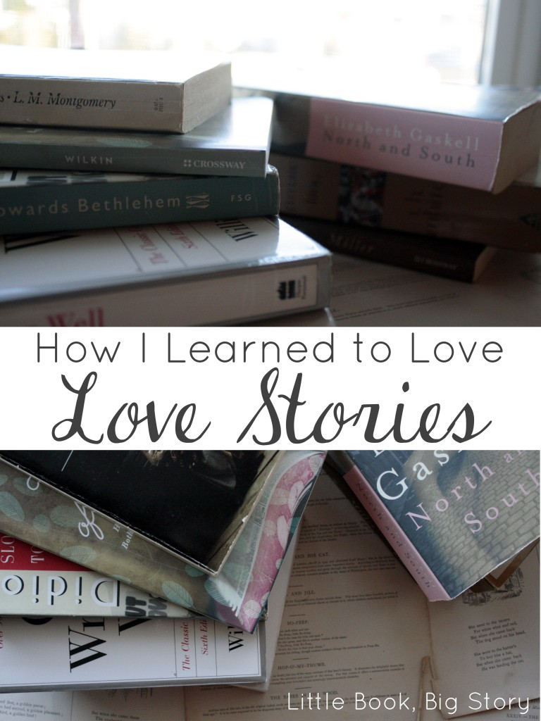 """How I Learned to Love Love Stories,"" on the Deeply Rooted blog 