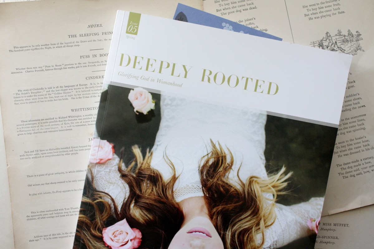 Deeply Rooted Magazine: a gorgeous magazine for Christian women, full of theology, art, and inspiration | Little Book, Big Story