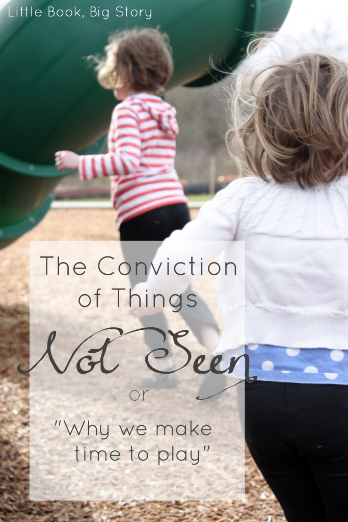 The Conviction of Things Not Seen | Little Book, Big Story