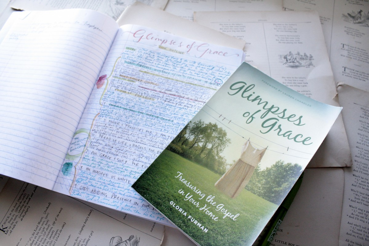Glimpses of Grace, by Gloria Furman (a review in Deeply Rooted) | Little Book, Big Story