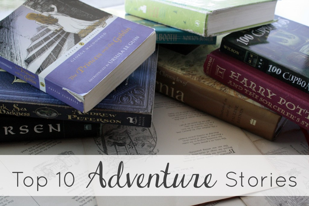 Top Ten Adventure Stories