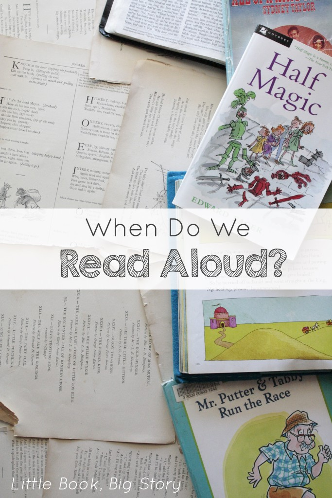 When Do We Read Aloud? | Little Book, Big Story