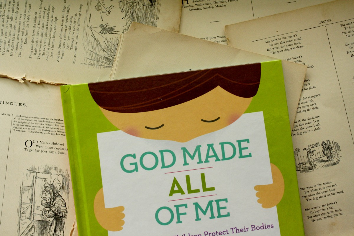 God Made All of Me, by Justin and Lindsay Holcomb | Little Book, Big Story