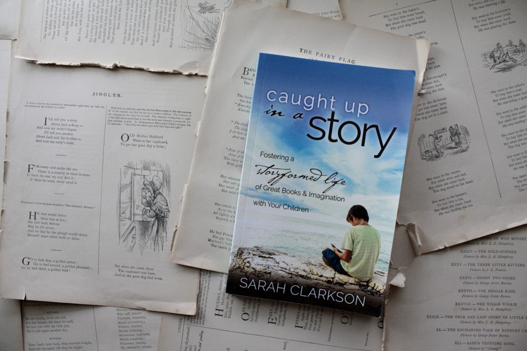 Caught Up in a Story, by Sarah Clarkson | Little Book, Big Story