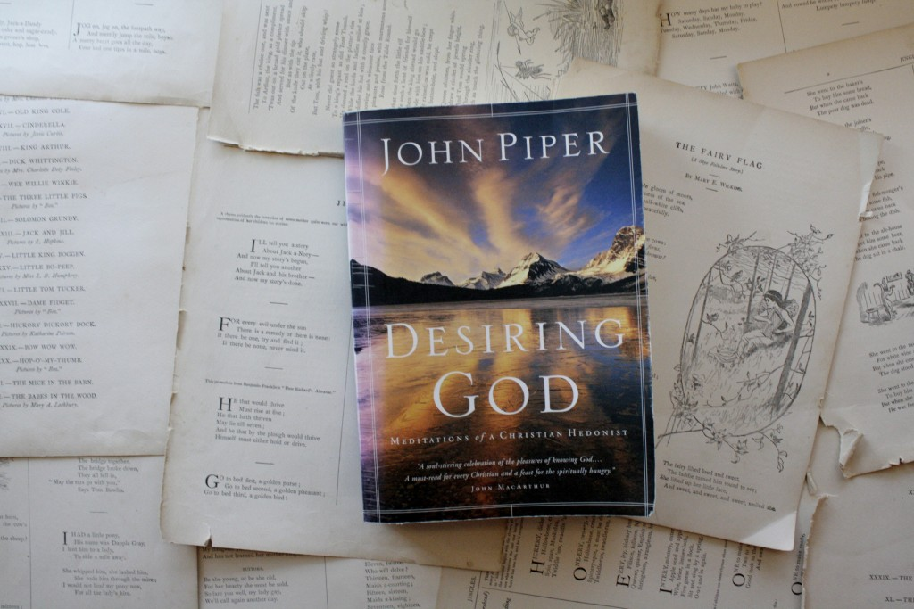 Desiring God, by John Piper | Little Book, Big Story