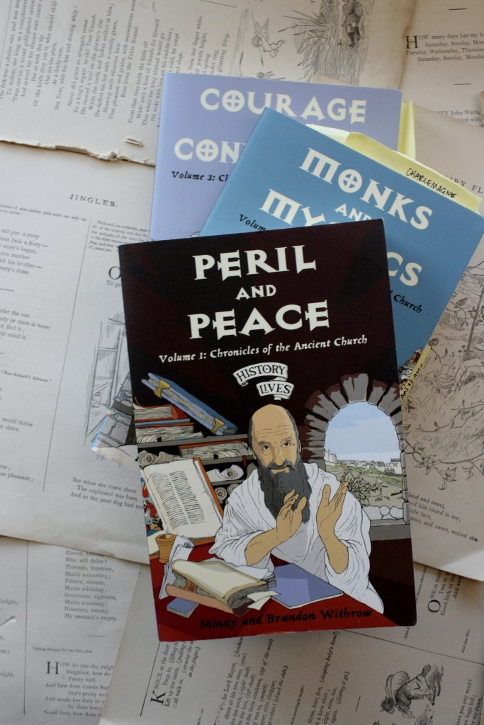 Peril and Peace, by Brandon and Mindy Withrow | Little Book, Big Story