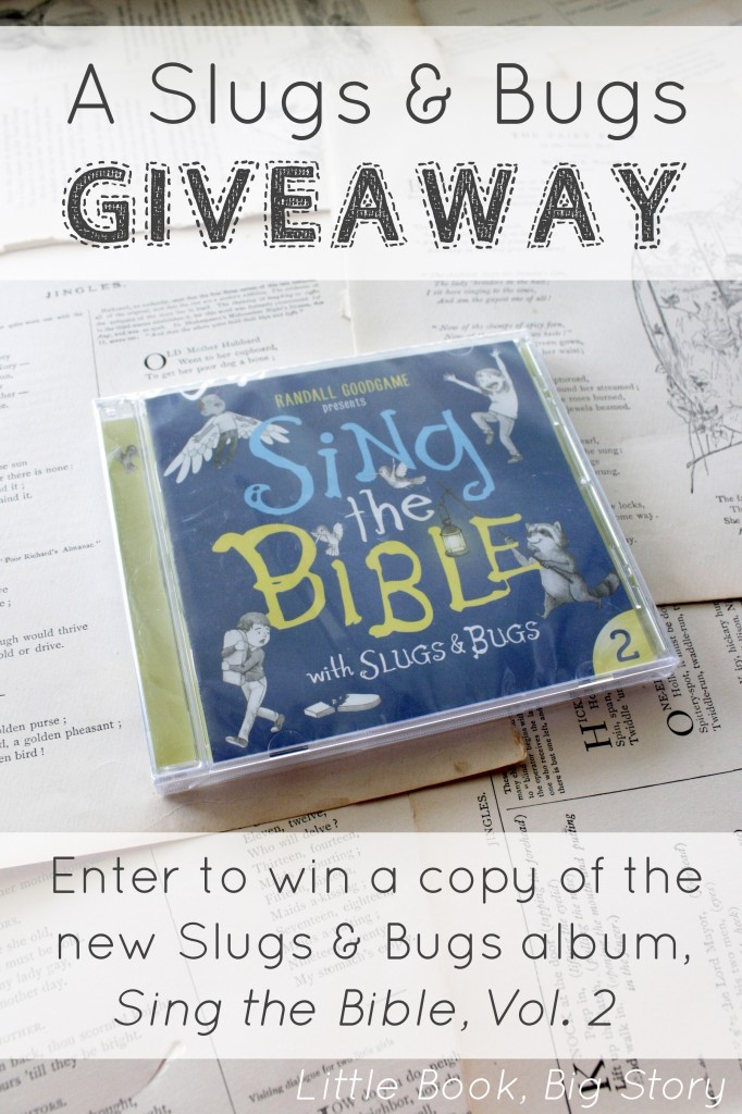 Enter to win a free copy of Slugs and Bugs' new album, Sing the Bible 2! | Little Book, Big Story