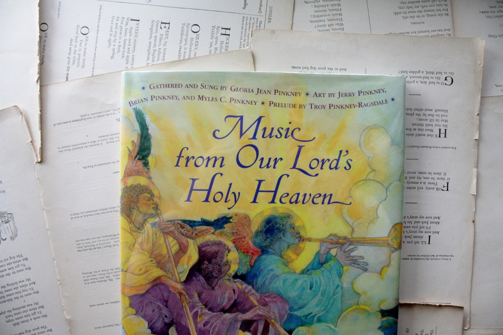 Music from Our Lord's Holy Heaven, by Jerry Pinkney and family | Little Book, Big Story