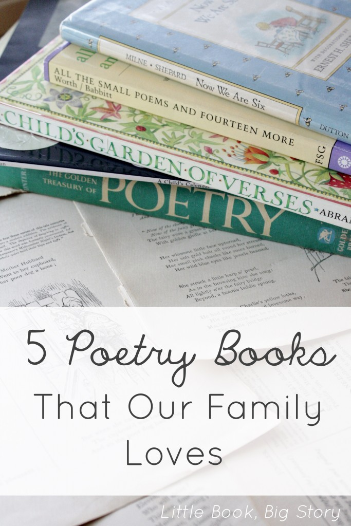 5 Poetry Books That Our Family Loves | Little Book, Big Story