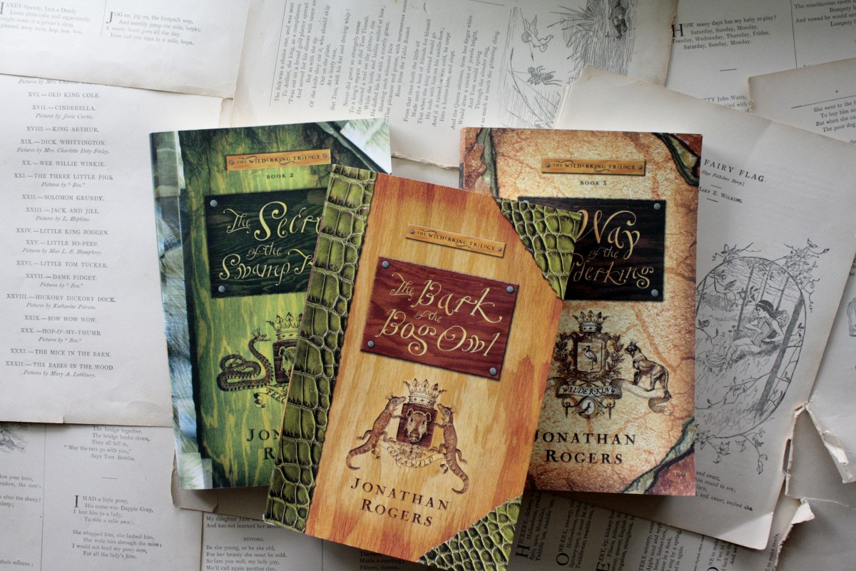 The Wilderking Trilogy, by Jonathan Rogers | Little Book, Big Story