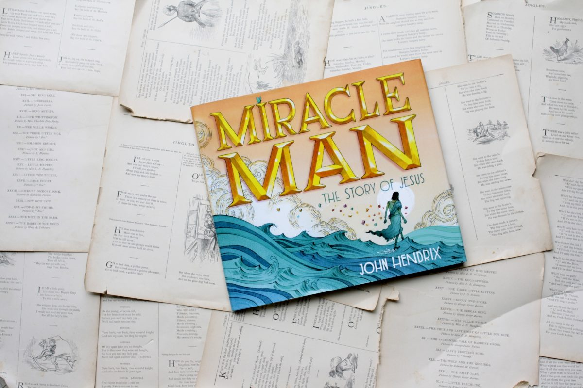 Miracle Man, by John Hendrix | Little Book, Big Story