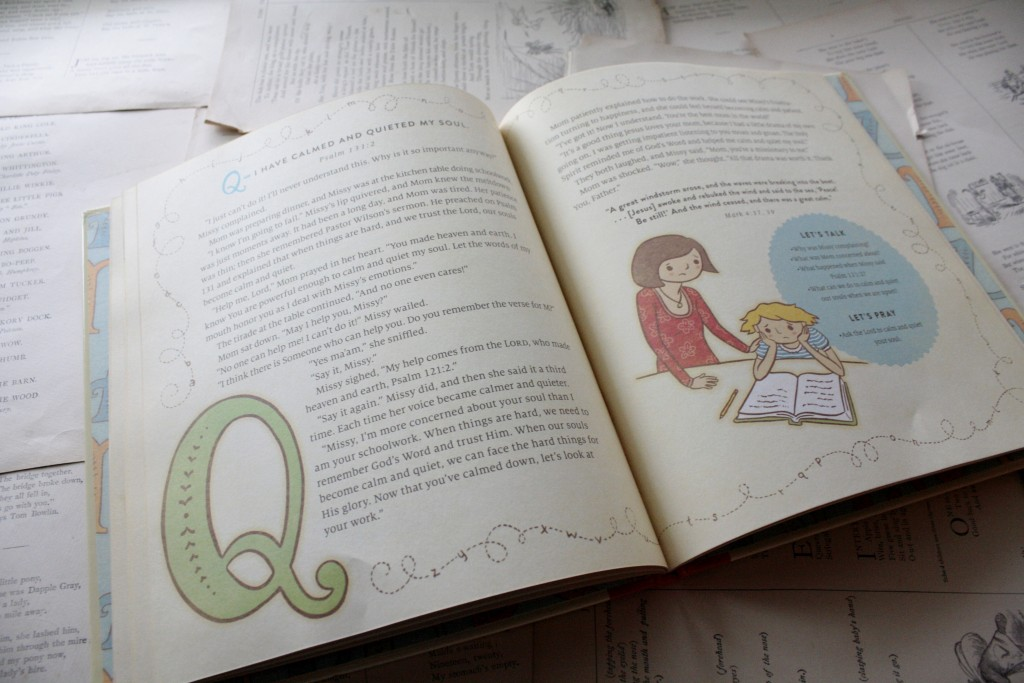 My ABC Bible Verses from the Psalms, by Susan and Richie Hunt | Little Book, Big Story