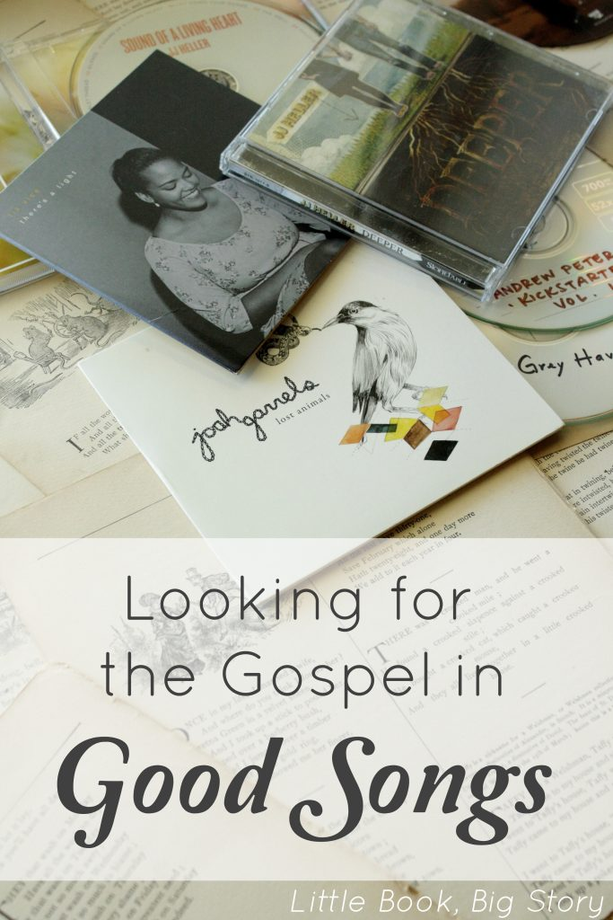 Looking for the Gospel in Good Songs | Little Book, Big Story