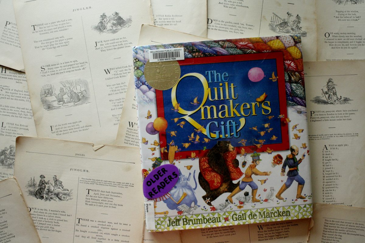 The Quiltmaker's Gift, by Jeff Brumbeau | Little Book, Big Story
