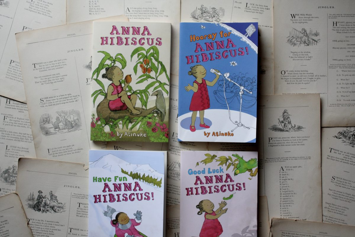 The Anna Hibiscus books, by Atinuke | Little Book, Big Story