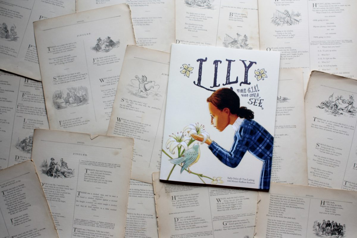 Lily: The Girl Who Could See, by Sally Oxley | Little Book, Big Story