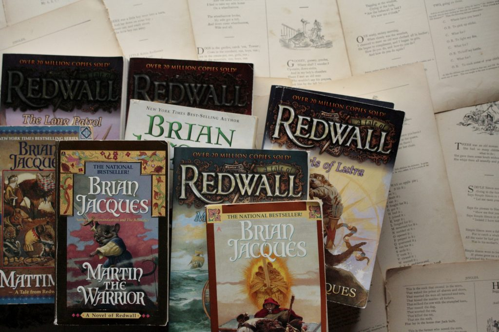 The Redwall Books, by Brian Jacques | Little Book, Big Story