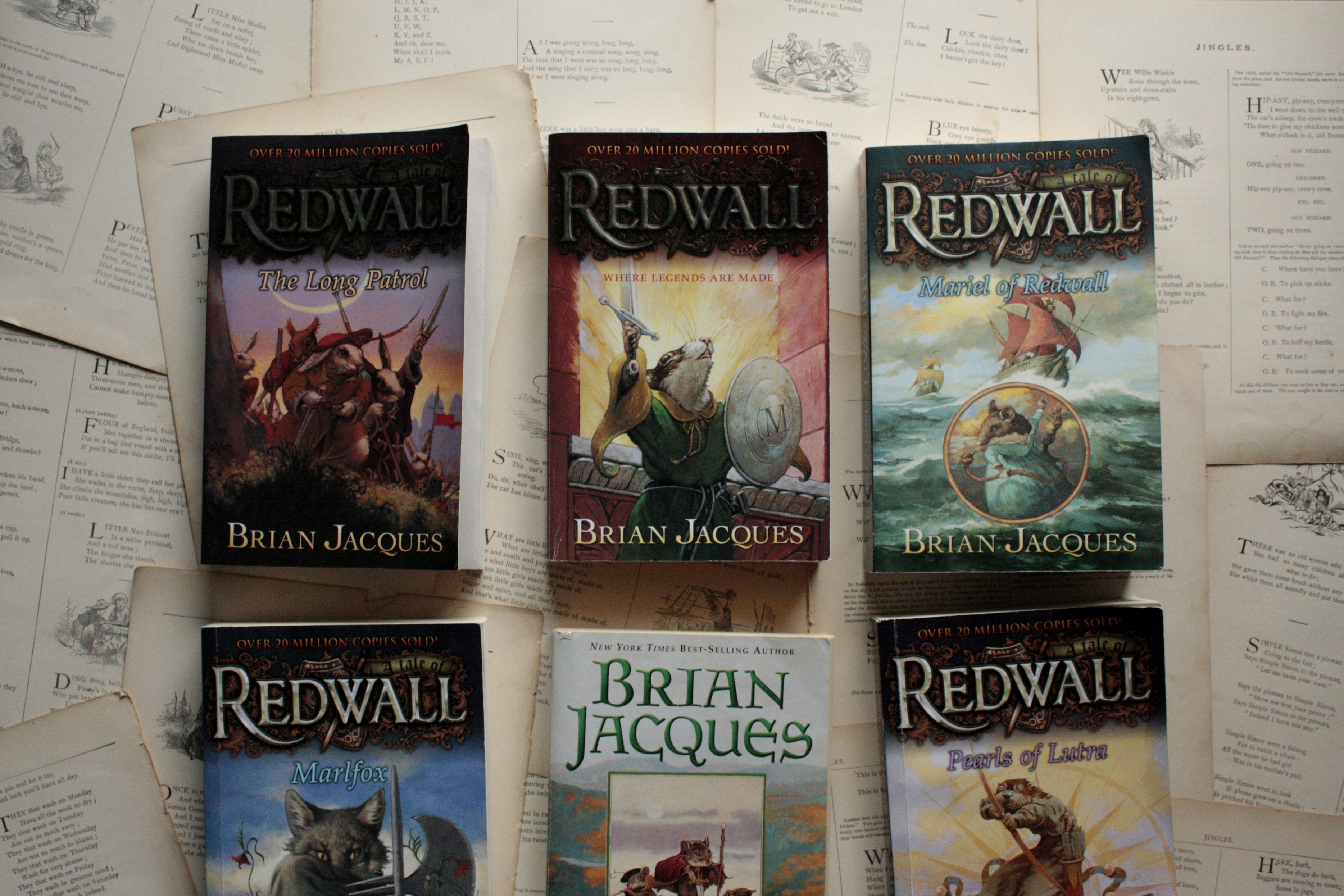 Redwall | Brian Jacques