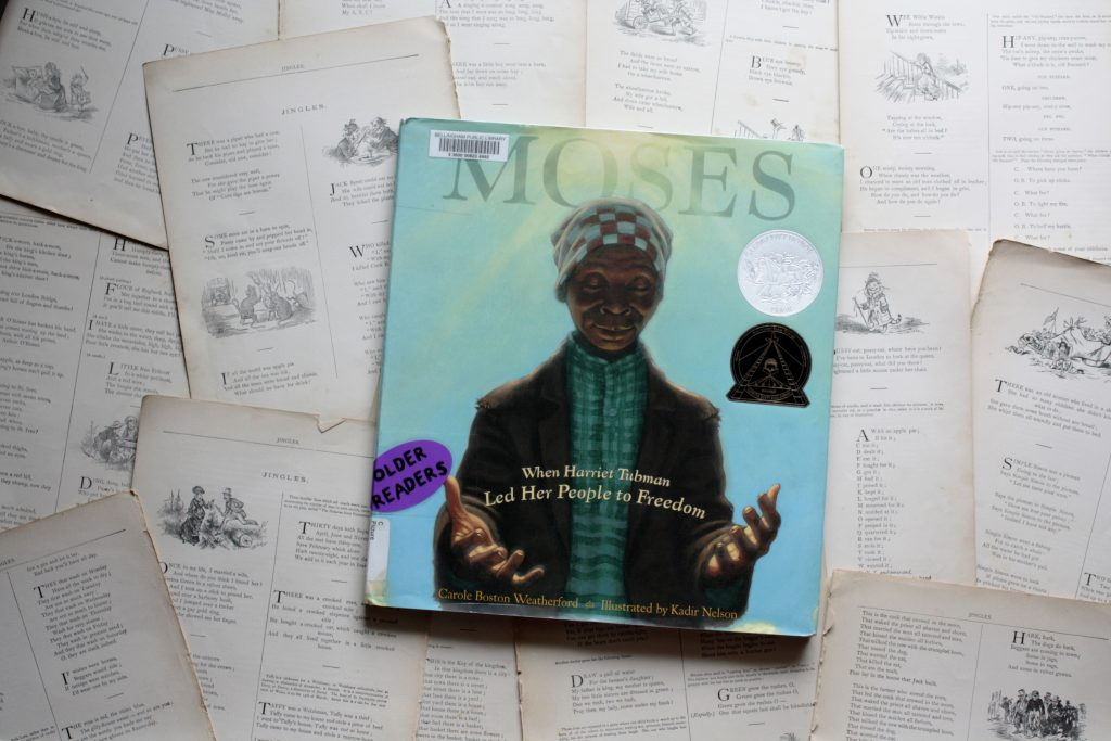 Moses, by Carole Weatherford | Little Book, Big Story