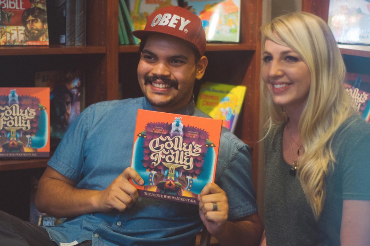 Eleazar and Rebekah Ruiz, authors of Golly's Folly | Little Book, Big Story