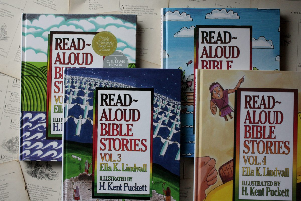 Read-Aloud Bible Stories, by Ella K. Lindvall | Little Book, Big Story