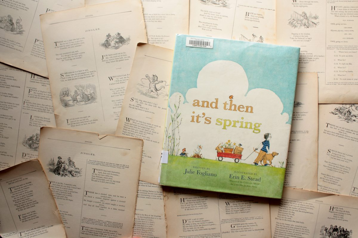 and then it 39 s spring by julie fogliano little book big story little book big story. Black Bedroom Furniture Sets. Home Design Ideas