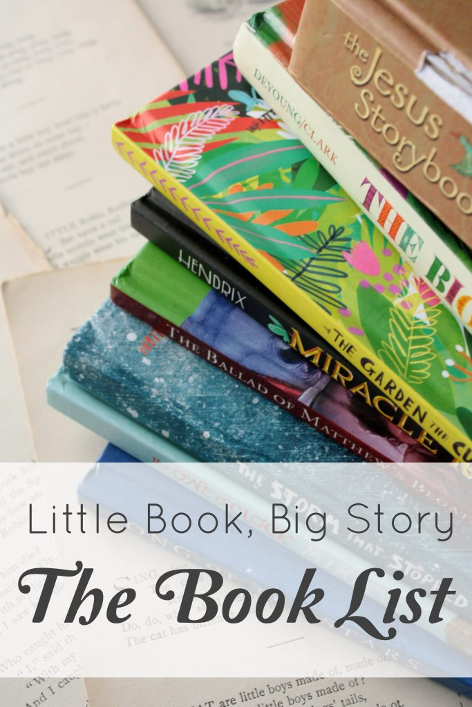 An exhaustive (that is, very long) list of true and beautiful books, compiled by the blogger behind Little Book, Big Story.