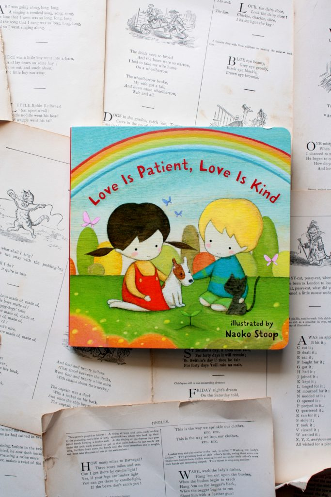 Love is Patient, Love is Kind, by Naoko Stoop (review) | Little Book, Big Story