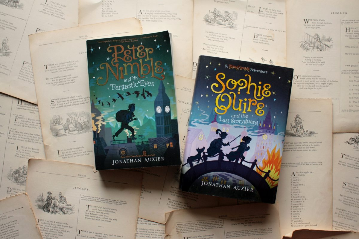 Sophie Quire and the Last Storyguard, by Jonathan Auxier | Little Book, Big Story