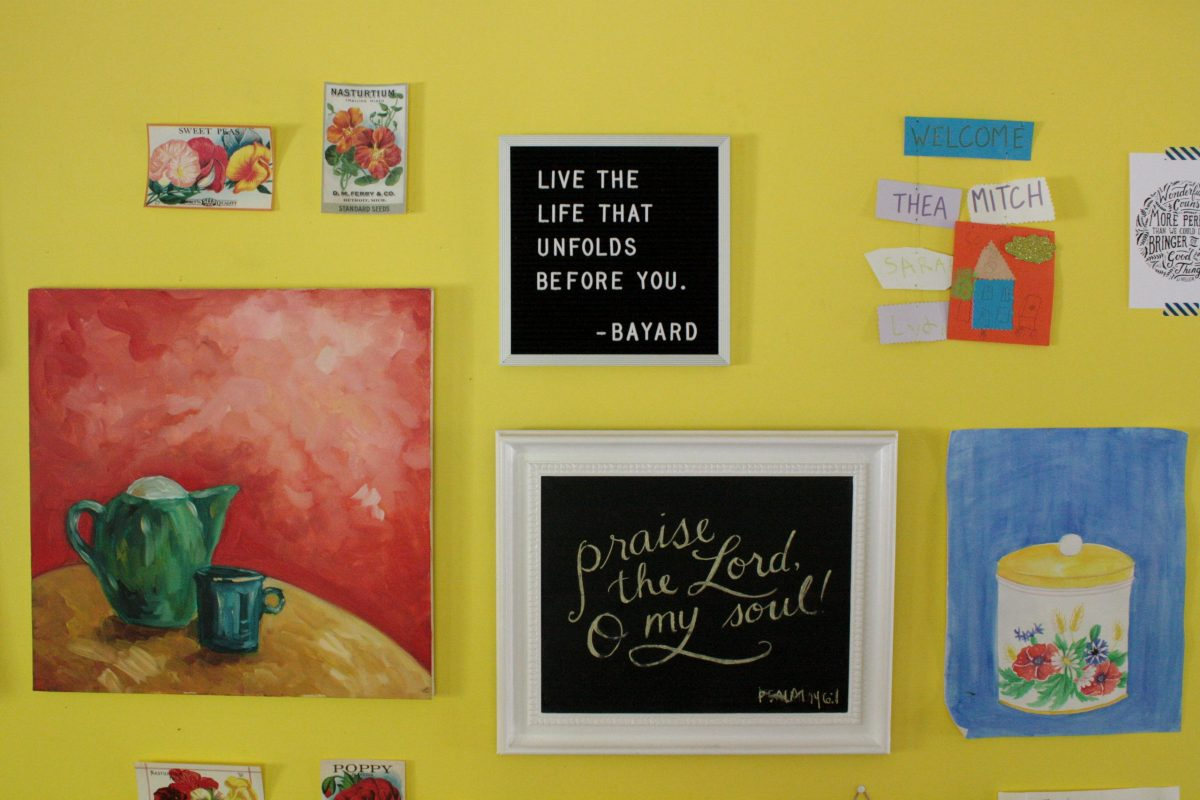 The Kitchen Wall | Little Book, Big Story
