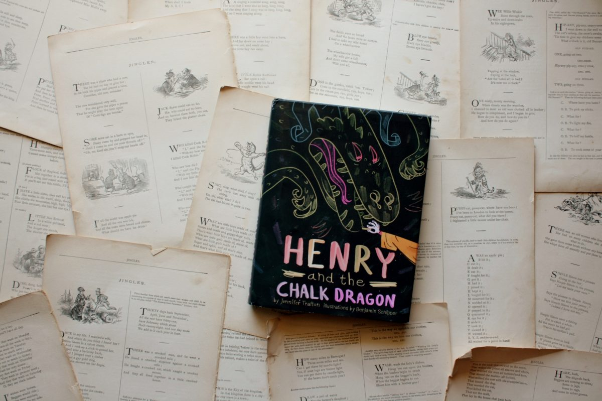 Henry and the Chalk Dragon, by Jennifer Trafton | Little Book, Big Story