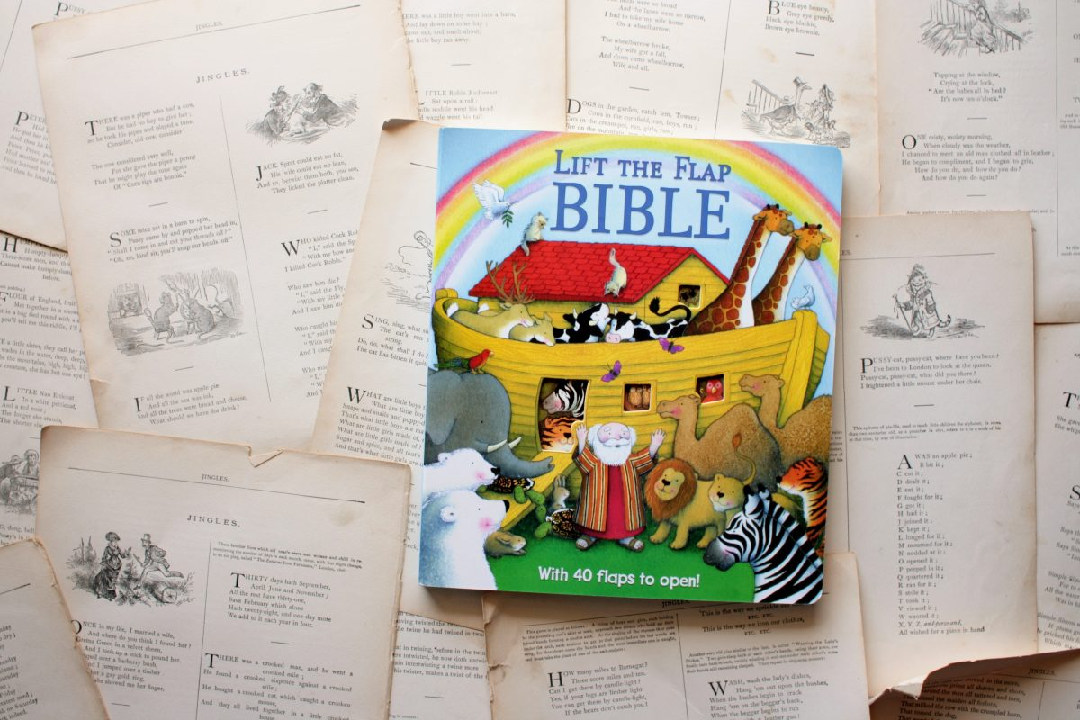 Lift-the-Flap Bible, by Sally Lloyd-Jones | Little Book, Big Story