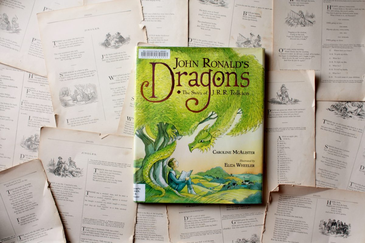 John Ronald's Dragons, by Caroline McAlister | Little Book, Big Story