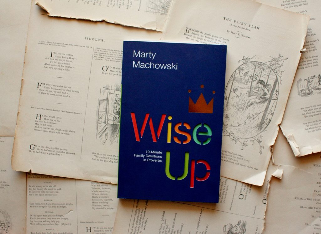Wise Up, by Marty Machowski | Little Book, Big Story