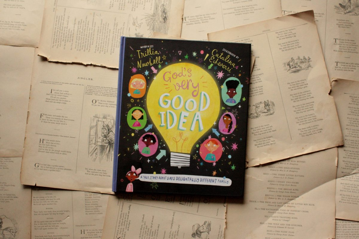 God's Very Good Idea, by Trillia Newbell (review) | Little Book, Big Story